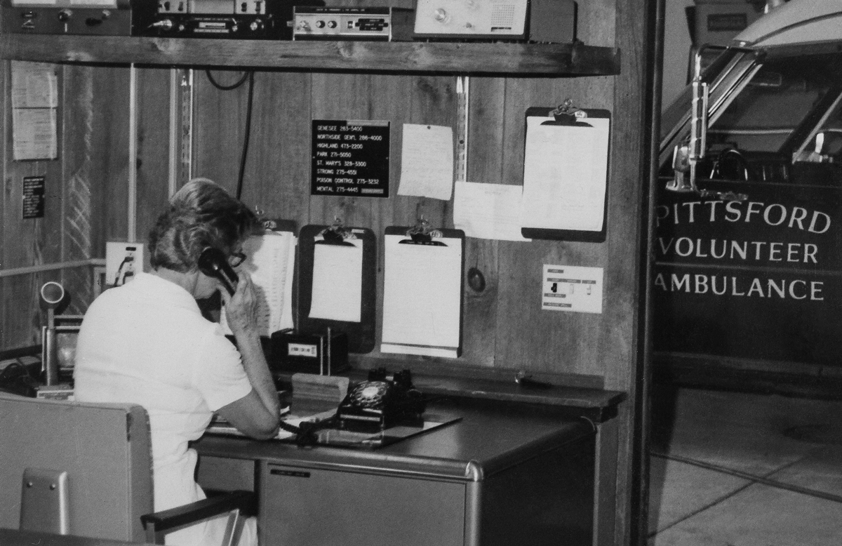 The old Dispatch desk