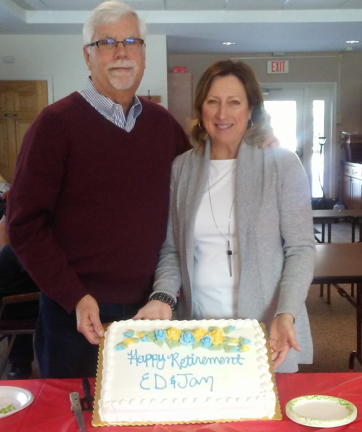 PVA Members Ed and Jan Kendrick Retire